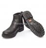 Ботинки черные с ремешками (Арт.2297)