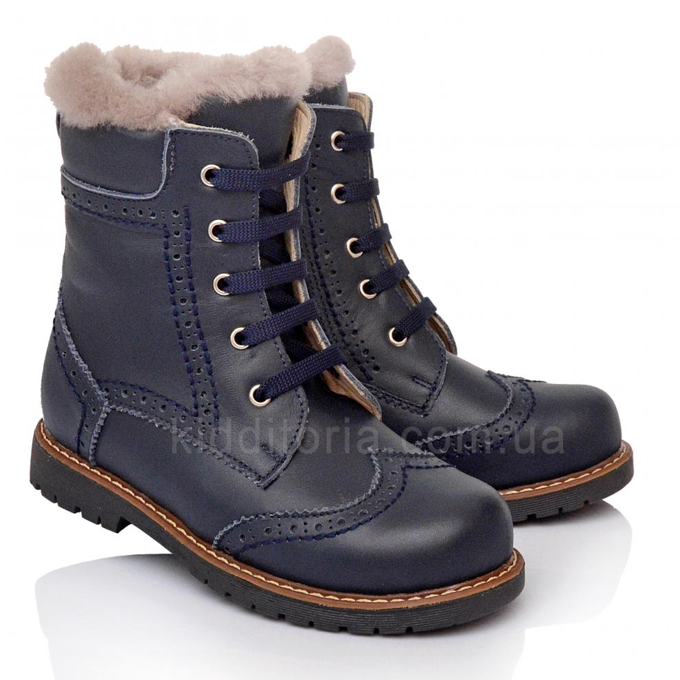 Зимние ботинки  на меху (Артикул 571-15)