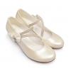 Нарядные туфли на каблуке для детей (Артикул 02-122)
