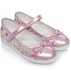 Туфли серебристо-розовые (Арт.2848)