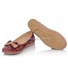 Туфли балетки бархатные (Арт. 004-78)