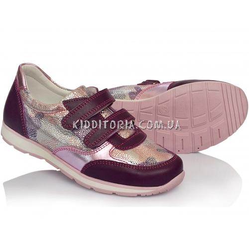 Кроссовки кожаные для девочки  (Арт.10-151)