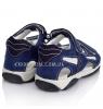 Босоножки спортивные синего цвета (Арт.1415)