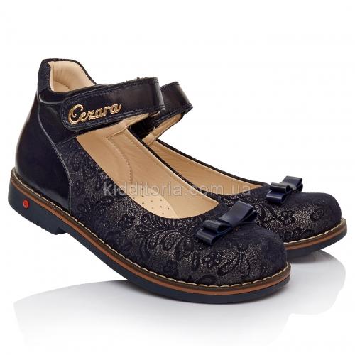 Школьные туфли для девочки (Артикул 1808-02)