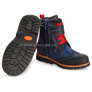 Ботинки на шнурках и молнии (Арт.1866-10)