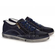 Туфли спортивные на шнурках и молнии (Арт.02275)