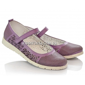 Туфли нежно-сиреневого цвета (Арт.2842-01)