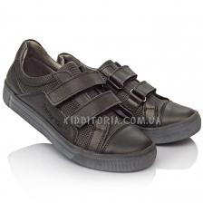 Туфли школьные на липучках (Артикул 2901)