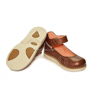 Туфли темно-бежевые (Арт. 638-1)