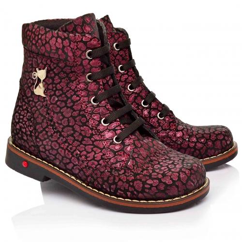 Ботинки демисезонные для девочек (Артикул 1107-08)