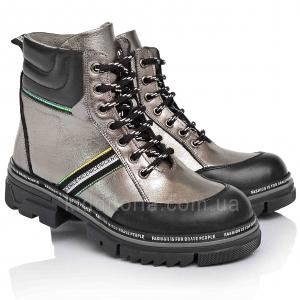 Эффектные демисезонные ботинки (Артикул 3712)