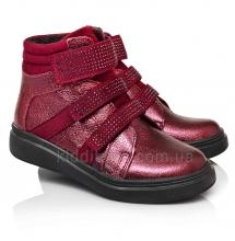 Демісезонні черевики бордового кольору (Артикул 5150-01)