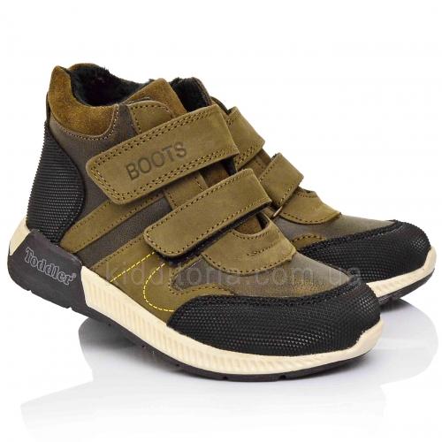 Утеплені черевики для хлопчиків (Артикул 5146-01)