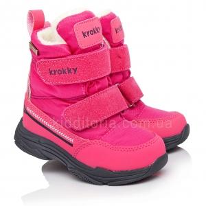 Зимние мембранные ботинки для девочек (Артикул 80-900)