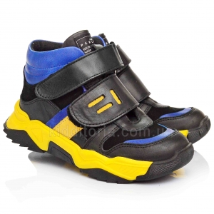 Яркие ботинки для мальчиков (Артикул 766-132)