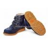 Ботинки Woopy синие на липучках