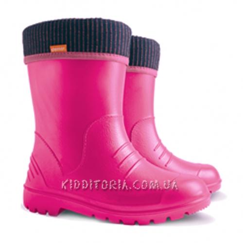 Суперлёгкие сапоги ярко-розовые Demar (Арт.195-02)