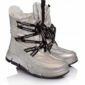 Детские зимние ботинки для девочек (Артикул 72-111)