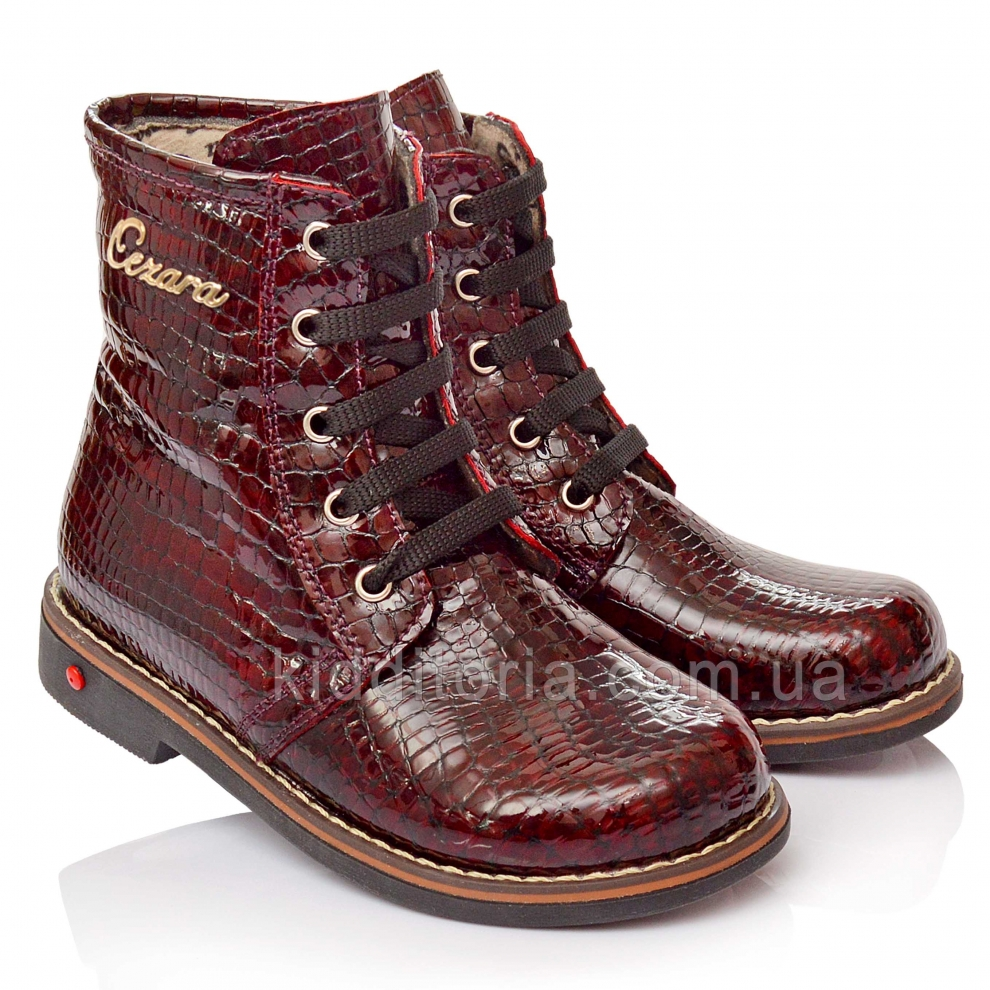 Ботинки демисезонные для девочки (Артикул 144-01)