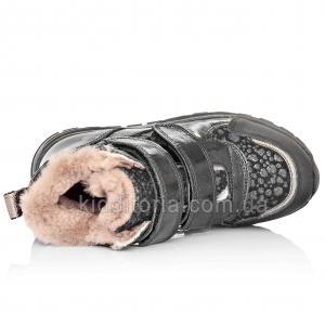 Зимові теплі черевики для дівчаток (Артикул 773-07)