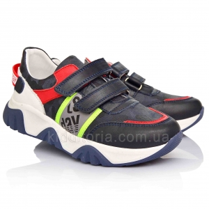 Яркие кроссовки со светоотражающей полосой (Артикул 15-142)