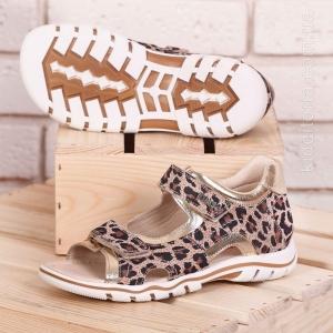 """Модні босоніжки з принтом """"Леопард"""" (Артикул 303-08)"""