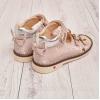 Детские ортопедические босоножки нежно-розового цвета (Артикул 005-01)
