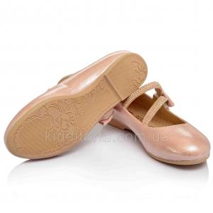 Нежно-розовые туфли для девочки (Артикул 02-71)