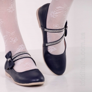 Туфли темно-синего цвета (Артикул 02-85)