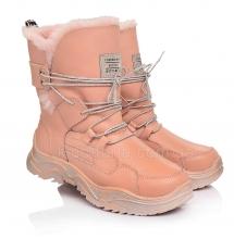Дитячі зимові черевики для дівчаток (Артикул 98-460)