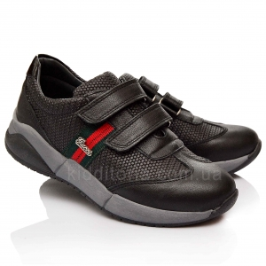 Кроссовки черного цвета (Артикул 851-01)