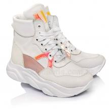 Модні утеплені кросівки для дівчаток (Артикул 96-340)