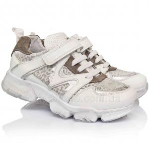 Кроссовки белого цвета для девочек (Артикул 07-194)