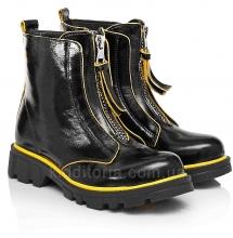 Модные демисезонные ботинки для девочки (Артикул 7641)