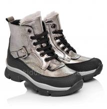Зимові дитячі черевики для дівчаток (Артикул 3706-04)