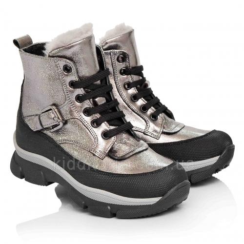 Зимние детские ботинки для девочек (Артикул 3706-04)