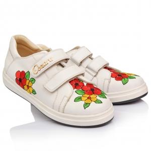 Кроссовки с красивой вышивкой (Артикул 780)