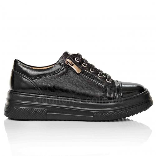 Модные кроссовки на высокой подошве (Артикул 17-119)