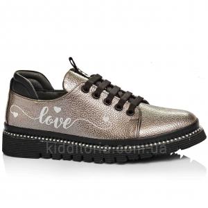 Туфли кожаные для девочек (Артикул 17-114)