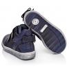 Зручні демісезонні черевики на двох липучках із бантиком (Артикул 461-01)