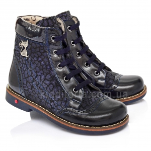 Ботинки демисезонные для девочек (Артикул 1107-07)