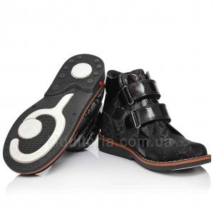 Ортопедические ботинки для девочки (Артикул 911-25)