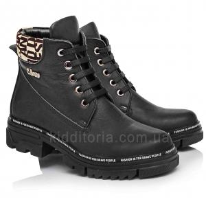 Стильные и удобные ботинки для девочки (Артикул 012-05)
