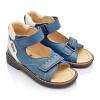 Босоножки летние сине-голубого цвета (Артикул 407-01)