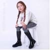 Стильные зимние сапоги для девочек (Артикул 81-177)