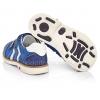 Туфлі синього кольору з білими вставками (Артикул 3485)