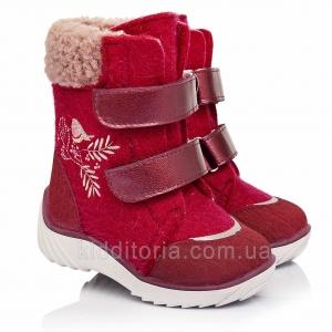 Детские ботинки для девочек (Артикул 157-42)