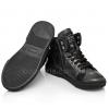 Демисезонные ботинки Perlina темно-серого цвета (Артикул 750-197)