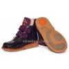 Ботинки фиолетовые с перламутром (Арт.02249-1)