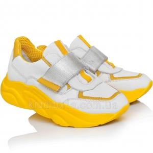Яркие кроссовки на желтой подошве (Артикул 07-104)